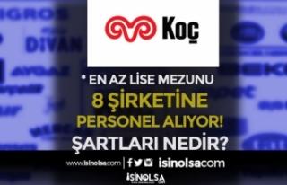 Koç Holding 8 Şirkete İş İlanı İle Personel...