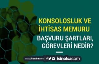 Konsolosluk ve İhtisas Memuru Olma Şartları, Dil...
