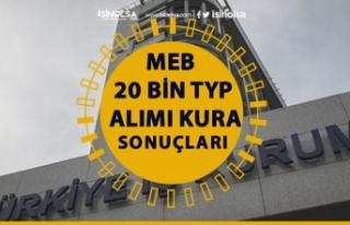 MEB 20 Bin TYP Alımı! 2020 İŞKUR TYP Kura Sonuçları...