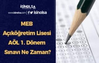 MEB Açıköğretim Lisesi AÖL 1. Dönem Sınavı...