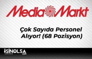 Mediamarkt Çok Sayıda Personel Alıyor! (68 Pozisyon)