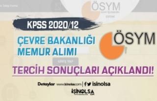 ÖSYM KPSS 2020/12 ÇŞB 50 Memur Alımı Sonuçları...