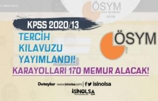 ÖSYM KPSS 2020/13 Tercih Kılavuzu Yayımladı! KGM...