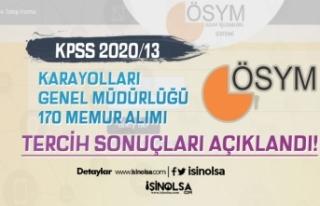 ÖSYM KPSS 2020/13 Tercih Sonuçlarını Açıkladı!...