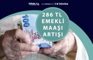 SSK, Bağkur Emekli Maaşı Zammı 286 Tl Artacak!