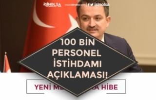 Tarım ve Orman Bakanı Pekdemirli 100 Bin Kişiye...