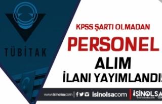 TÜBİTAK Ankara İçin KPSS Siz 8 Personel Alımı...