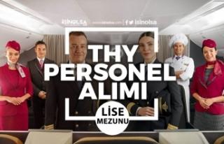 Türk Hava Yolları THY Lise Mezunu Personel Alımı...