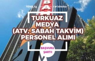 Turkuvaz Medya (Atv, Sabah, Takvim) Muhabir ve 3 Kadroda...