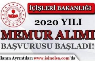 İçişleri Bakanlığı 2020 Yılı 30 Dernekler...