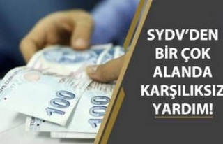 SGK, SYDV'den Ev Hasarı, İşsizlere, Evde Bakım...