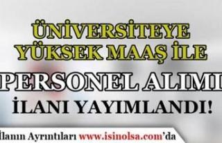 Sivas Bilim ve Teknoloji Üniversitesi Yüksek Maaş...