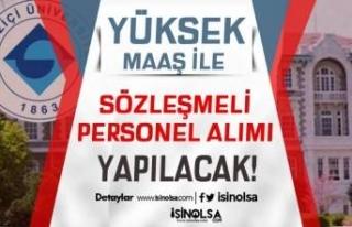 Boğaziçi Üniversitesi Yüksek Maaş İle Sözleşmeli...