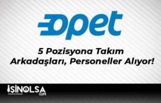 Opet 5 Pozisyona Takım Arkadaşları, Personeller...