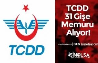 TCDD 31 Gişe Memuru Alıyor! Bilet Satış ve Bilgi...