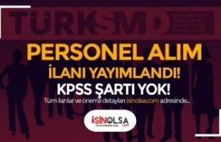 TÜRKSMD ( Türk Sınai Mülkiyet ) KPSS Siz Personel...