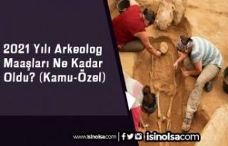 2021 Yılı Arkeolog Maaşları Ne Kadar Oldu? (Kamu-Özel)