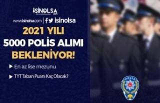 2021 Yılı PMYO İle Lise Mezunu 5000 Polis Alımı...