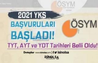 2021 YKS Başvuruları Başladı! TYT, AYT ve YDT...