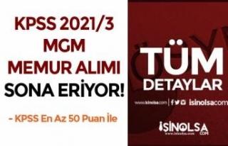 50 KPSS İle MGM Memur Alımı ( KPSS 2021/3 ) Tercihlerinde...