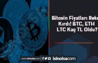 Bitcoin Fiyatları Rekor Kırdı! BTC, ETH ve LTC...