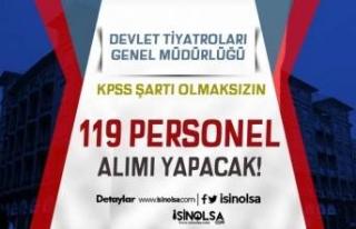 Devlet Tiyatroları Genel Müdürlüğü KPSS Siz...