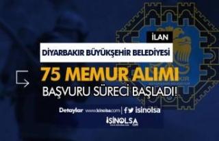 Diyarbakır Büyükşehir Belediyesi Memur Alımı...