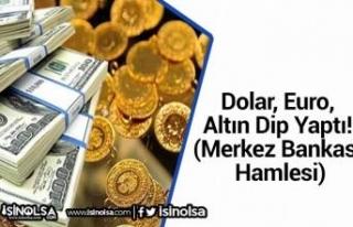 Dolar, Euro, Altın Dip Yaptı! (Merkez Bankası Hamlesi)