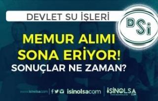DSİ 8 Farklı Şehirde Memur Alımı Başvurusu Sona...