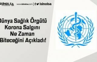 Dünya Sağlık Örgütü Korona Salgını Ne Zaman...