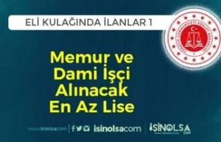 Eli Kulağında İlanlar 1: Adalet Bakanlığı Personel...