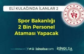 Eli Kulağında İlanlar 2: Gençlik ve Spor Bakanlığı...