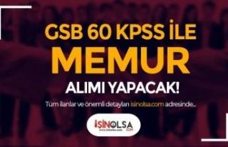 GSB Memur Alımı Alımı Sona Eriyor! KPSS Taban...