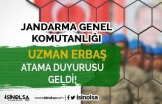 Jandarma Genel Komutanlığı 23 Şubat uzman Erbaş...