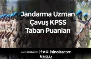 Jandarma Uzman Çavuş KPSS Taban Puanları (Mezuniyetlere...