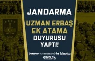 Jandarma Uzman Erbaş Ek Atama Duyurusu Yaptı! 4....