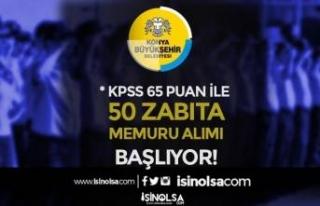 Konya Büyükşehir Belediyesi 50 Memur Alımı Başlıyor!...