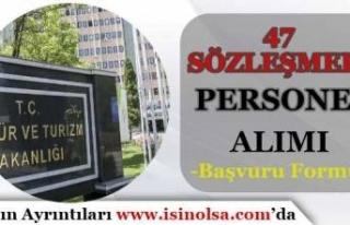 Kültür ve Turizm Bakanlığı 47 Sözleşmeli Personel...