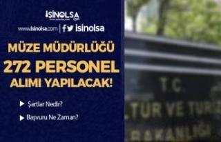 Kültür ve Turizm Bakanlığı Müze Müdürlüğü...
