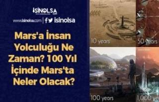 Mars'a İnsan Yolculuğu Ne Zaman? 100 Yıl İçinde...