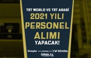 TRT World veya TRT Arabi Personel Alımı İlanı...