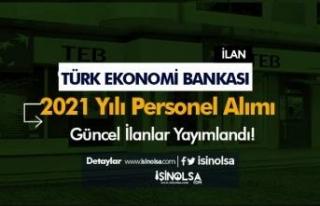 Türk Ekonomi Bankası ( TEB ) 2021 Yılı Güncel...