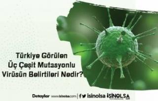 Türkiye Görülen Üç Çeşit Mutasyonlu Virüsün...