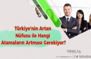 Türkiye'nin Artan Nüfusu ile Hangi Atamaların...