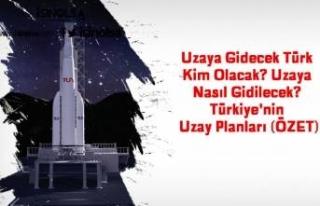 Uzaya Gidecek Türk Kim Olacak? Uzaya Nasıl Gidilecek?...
