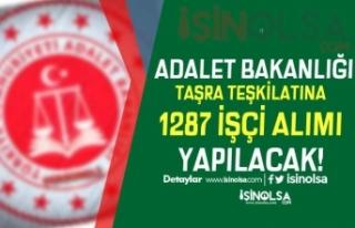 Adalet Bakanlığı Türkiye Geneli Taşra Teşkilatına...