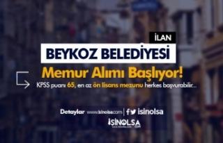 Beykoz Belediyesi Ön Lisans ve Lisans Mezunu Memur...