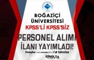 Boğaziçi Üniversitesi Yüksek Maaşlı Personel...