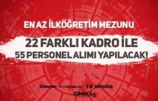 Burdur Akaryakıt En Az İlköğretim Mezunu KPSS...