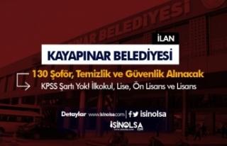 Diyarbakır Kayapınar Belediyesi 130 Şoför, Güvenlik...